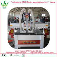 ATC New type pneumatic double toor changer combination woodworking machines for furniture solid MDF PVC Aluminum processing