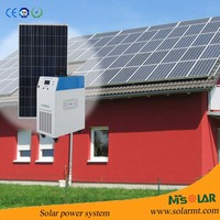HIGH EFFICIENCY LOWER PRICE 4KW SOLAR POWER SYSTEM WITH BATTERY AND COMPLETE COMPONENT