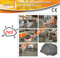 Plastic Recycling Machine / PP PE plastic Pelletizing Machine / Film Bags Pelletizing Machine