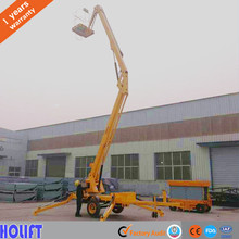 Top Quality Cherry picker truck mounted articulated boom lift diesel electric with low price