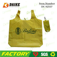 OEM Personalized Reusable Eco Custom Nylon nylon folded shopping bag DK-NZ037