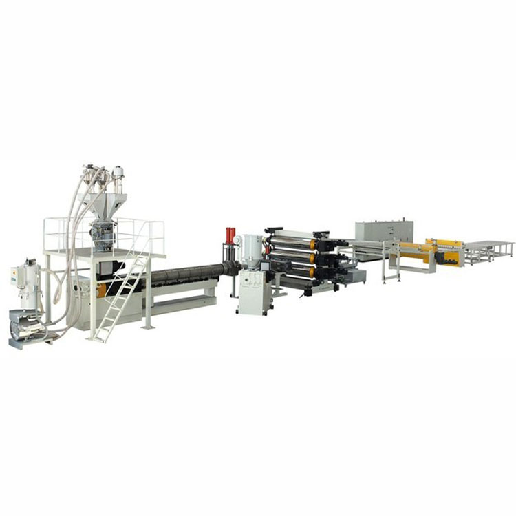 plastic PE ABS PP sheet manufacturing extrusion production making machine extruder machinery <strong>line</strong>