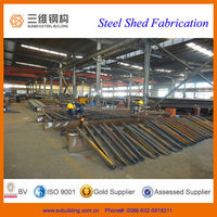 2014 new design structural steel shed building for sales