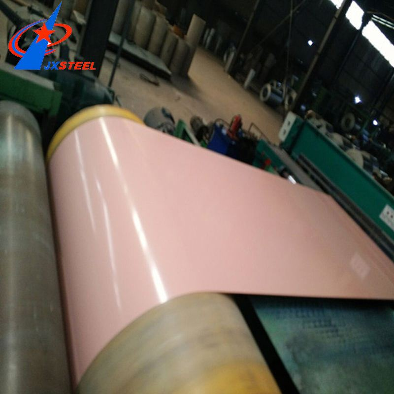 Stocked ppgi/ color coated prepainted galvanized steel coil dx51d