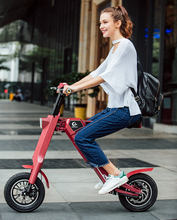 12 Inch Tire Size and CE Certification wholesale Electric folding electric bike for work short distance