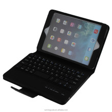 Bluetooth 3.0 ABS keyboard and Durable PU Case 2 in 1 for ipad mini 4 keyboard case