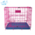 Factory wholesale folding metal dog cage for sale cheap,cages for dogs in sale