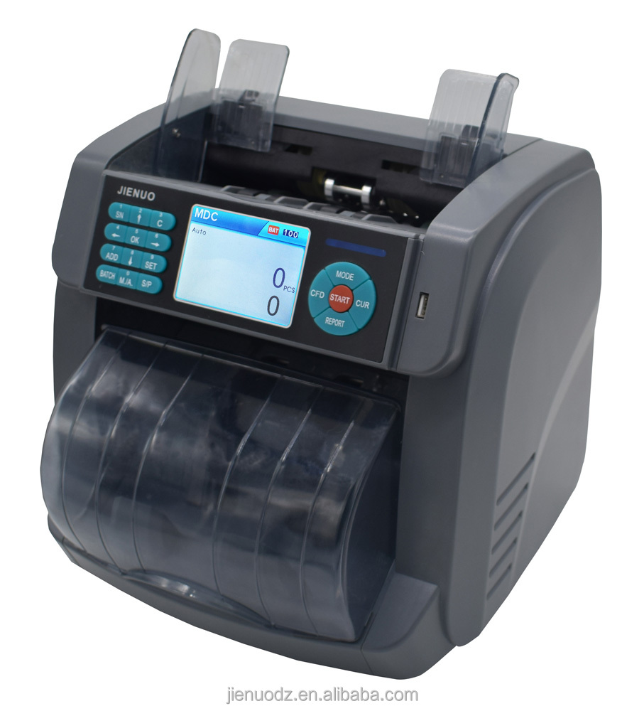 CIS top-loading Multi-currency bill counter with dust cover