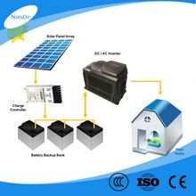 Easy to Install 500W solar power system for cctv with cable