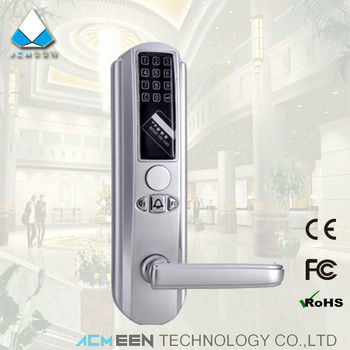 smart rfid card mortise wireless electronic intelligent password combination door lock