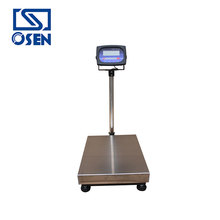 OI-101 Plastic Housing Indicator Waterproof 300Kg Electric Bench Weighing Scale