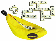 bananagrams best selling board game yellow bag