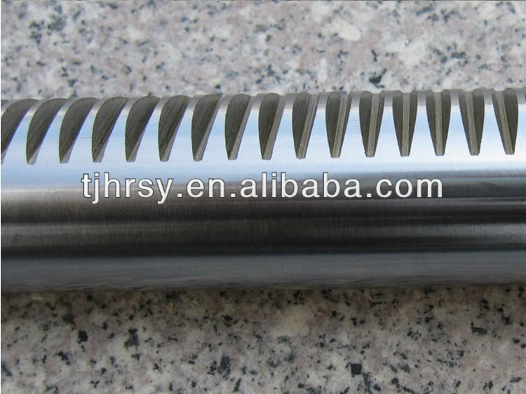 Steel round gear racks M1-M12 FACTORY