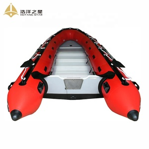 Hot Sale 2018 Camouflage Hull Fiberglass Rigid RIB Boats Inflatable Boat With Outdoor Motor
