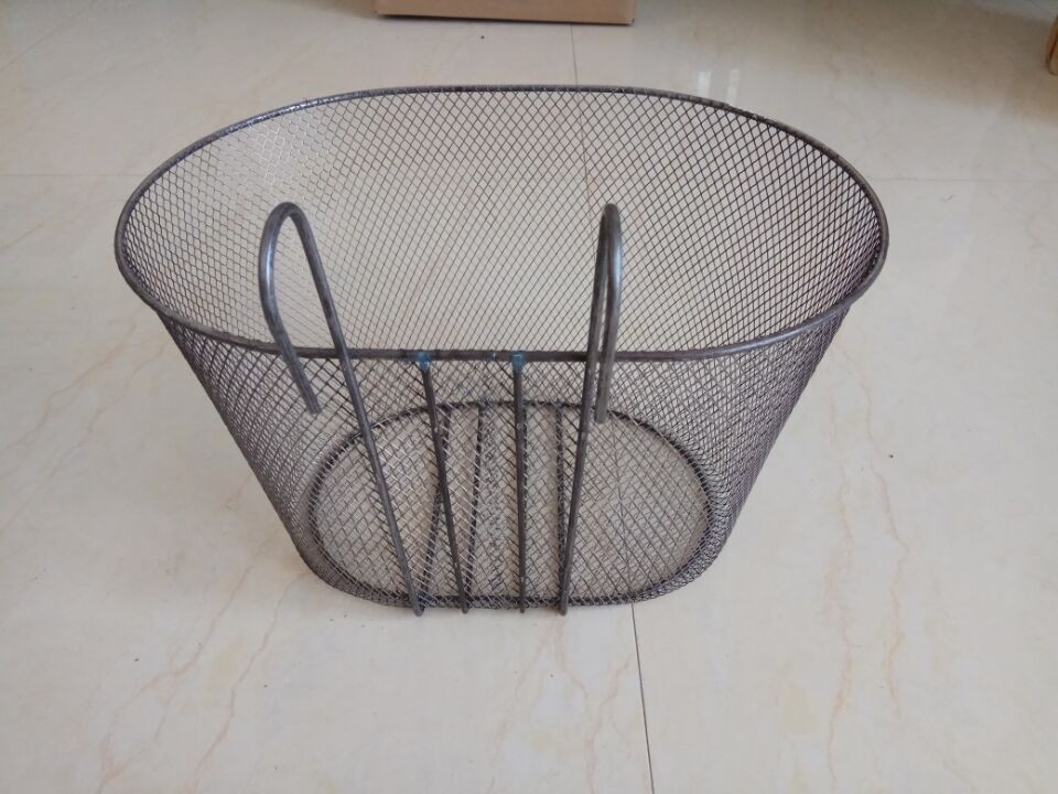 high quality front & rear wire metal bicycle cheap basket for bike rack bags bicycle accessories
