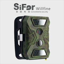 mini trail camera with 12MP, 940nm invisible IR for hunting and security