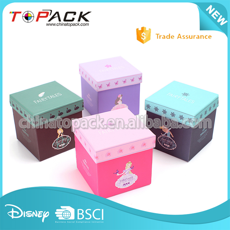 Fashion custom small apple paper gift boxes packing boxes factory