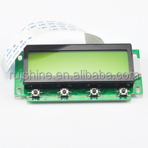 Yellow-Green 122x32 small lcd module for instruments