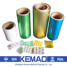 Push Through Aluminium Foil For Medical Packaging With PVC/PVDC