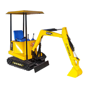 Electric remote control amusement park products mini toy excavator