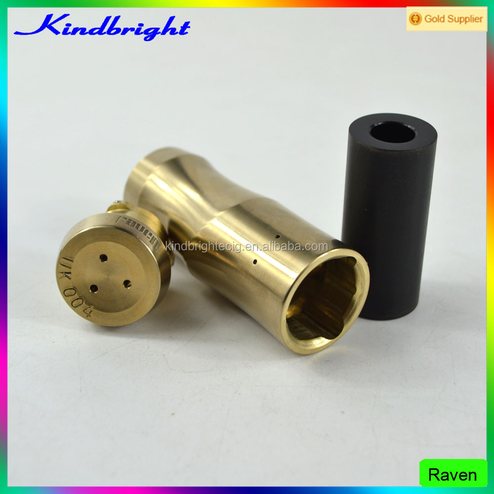 2017 Kindbright newest mech mod Revolver timekeeper mod/ vapebreed starter kit/ Raven mod