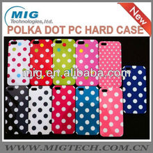 Polka dot PC hard case for iphone 5S , for iphone 5 case