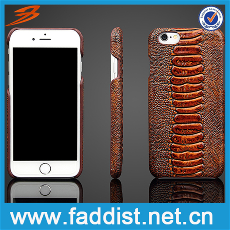 For wholesale genuine leather Apple iphone 6s phone case
