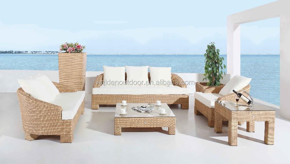 A buon mercato divano da giardino in rattan giardino for Grossisti arredamento