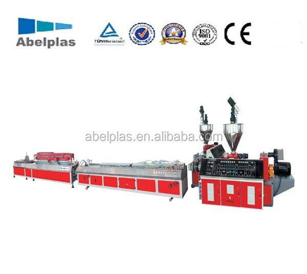PVC Electrical Conduit Channel/Trunk Making Machine