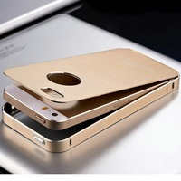 Cool Unique Design Smart Ice Mobile Phone Case Metal Cover for Iphone5 5S