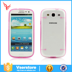New crystal clear hard back case for samsung Galaxy G530,clear luminous TPU case for samsung