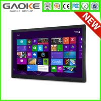 "Gk880T 55"" 65"" 70"" 84"" 98"" lcd/led FHD touch screen smart monitor interactive flat panel all in one pc & TVfor office classroom"