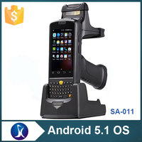 IP65 qr code barcode scanner,rugged android handheld barcode scanner pda