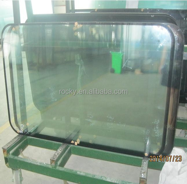 ROCKY brand LOW E insulated glass window for subway car