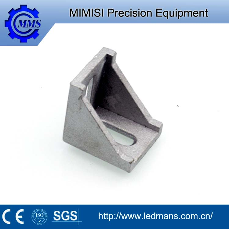 MMS Custom chrome plated retaining clip hardware V shaped bracket
