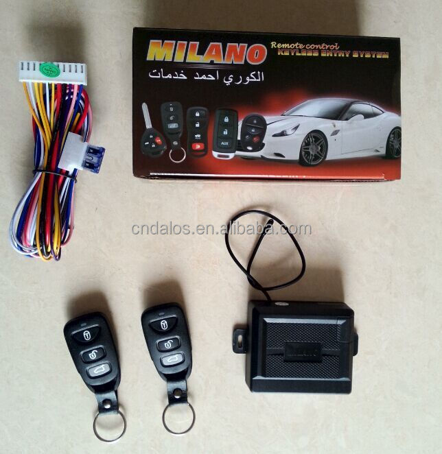 High quality car alarm keyless entry system installation for car