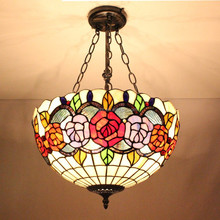 S04720D02 of Antique tiffany ceiling lamp factory manufacturer for wholesale