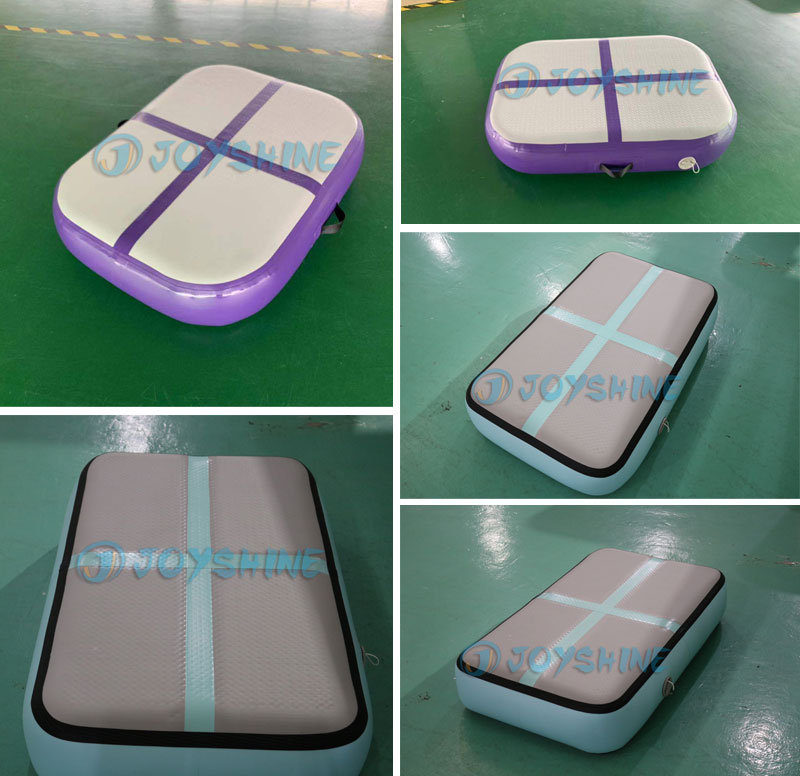 High Quality Inflatable Air Block For Gymnastic Kids Adult Yoga Gym Training Safety Air Floor Airblock Air Track Mat