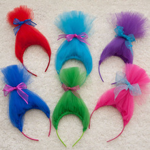 Top Baby Girls Costume Toll Tutu Headbands With Bow