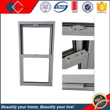 Top hung slide window standard vertical bathroom sliding window size