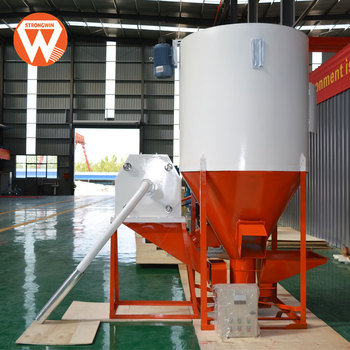 Henan Strongwin small feed pellet producing line plant for animal livestock feed making