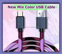 Cheap Wholesale Colorful Charging Micro OTG Magnet USB Cable For Smart Phone