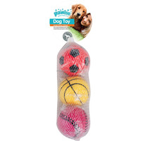 DOG TOY - SPONGE BALL 3 PACK