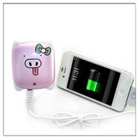 Small size 2200mah power pack with car battery power pack as travel set