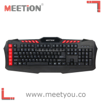 10 hotkeys to control Media Player backlit gaming keyboard