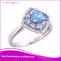 New fashion competitive price 925 Sterling silver wedding ring