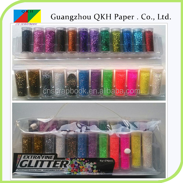 Wholesale in China Festive & Party Supplies fashion glitter combo powder set
