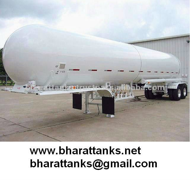 50000L (C3H8) Liquefied petroleum gas tank semi trailer