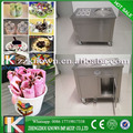 Factory direct sale italian fried ice cream machine one pan with six buckets