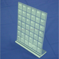 customized desgin acrylic earring display stand holder